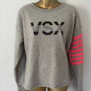 VSX victoria secret graphic sweater size medium